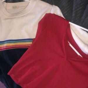 Bundle of brandy shirts